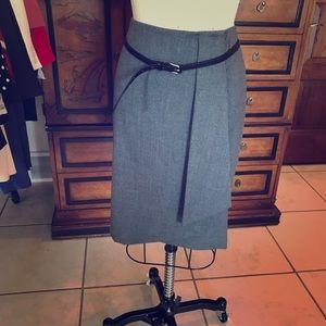Talbots Grey Skirt